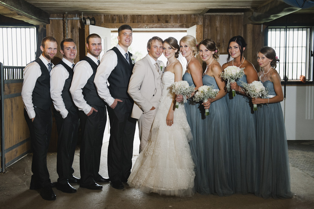 Bridal party portrait: Abelle