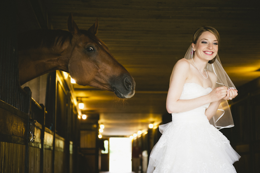Wedding photography, the first look session