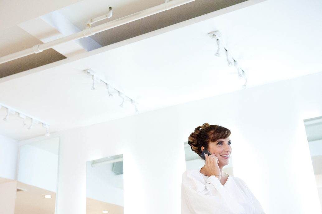 Montreal wedding preparation: Abelle