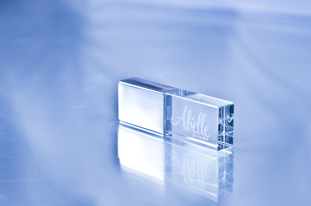 Crystal USB Key: Abelle photographie