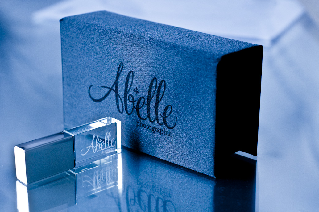 Crystal USB Key and Box Set: Abelle photographie